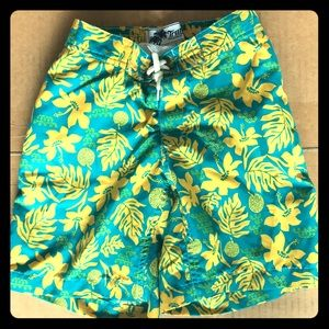 Brand new without tags designer boys swim trunks